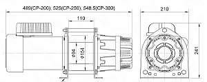 Лебедка электрическая ср-200